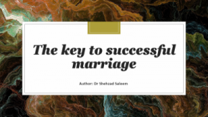 Blog-Key to successful marriage